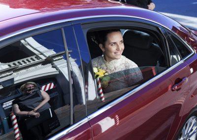 Margo-Hickman-Lauren-arriving-car