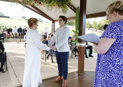 Margo-Hickman-marrying-Lisa-Renee-vows